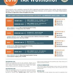 State of Hawai'i – Department of Taxation: 2016 Tax Workshop